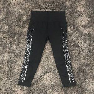 Fabletics Polka Dot Workout Capris Pants